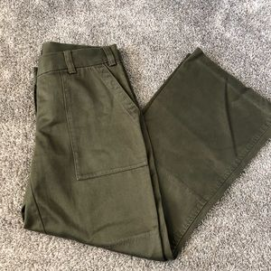 Vintage Cargo Green Moda International Pants